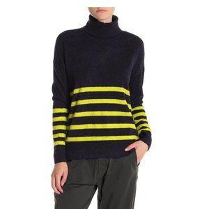Vince Camuto Striped Turtleneck Sweater